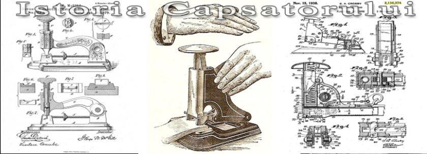 capsator, capsatoare, istoria capsatorului, capse